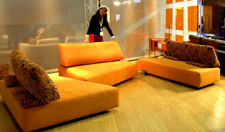 Orange Living Room Furniture