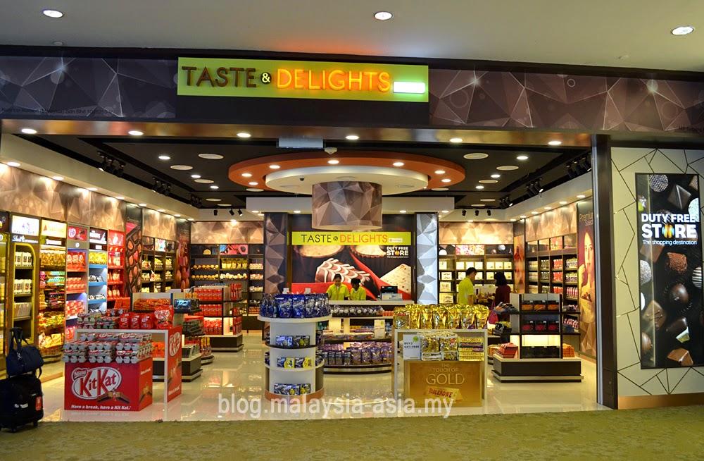 Taste and Delights Chocolates KLIA2