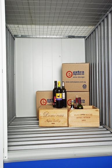 Extra space wine storage