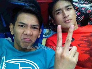 Foto Angga Putra Dengan Gerald Yo