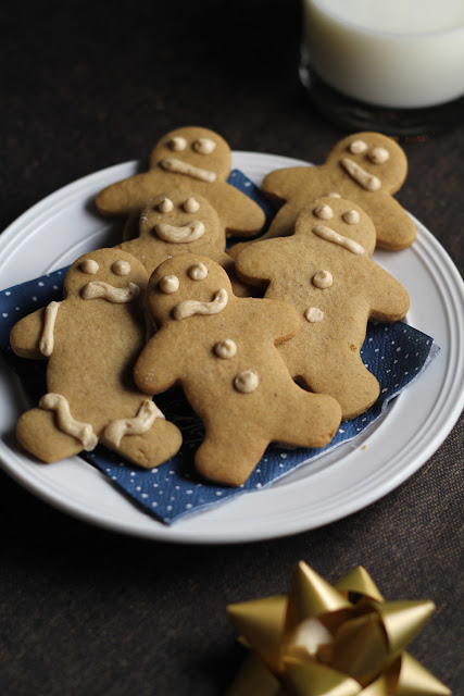 Drunk Gingerbread Men | sweetpeasandsaffron.com
