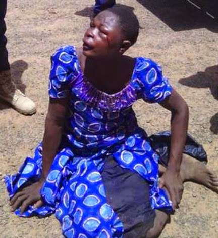 kidnapper dressed woman abia state