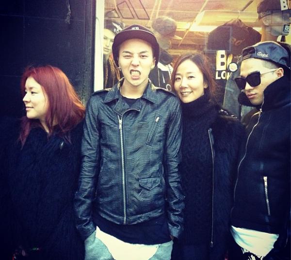 G-Dragon Taeyang in London