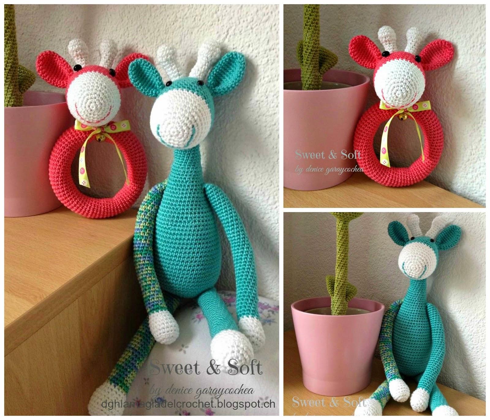 La Magia del Crochet: JIRAFAS