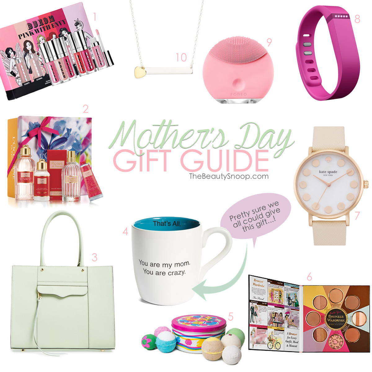 HONEY, HERE'S A HINT // MOTHER'S DAY GIFT GUIDE