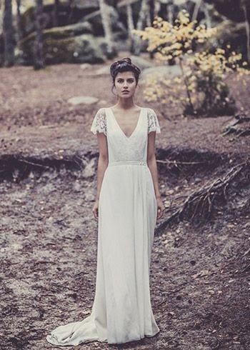 Wedding Dresses Laure de Sagazan Bridal : Cool Chic Style Fashion