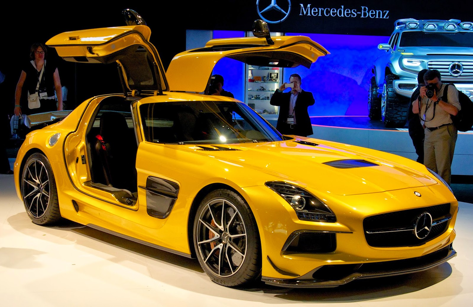 Mercedes-Benz SLS AMG Black Series (supercar)