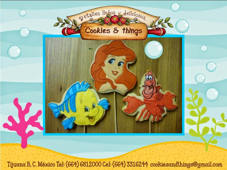 Little Marmaid Cookies