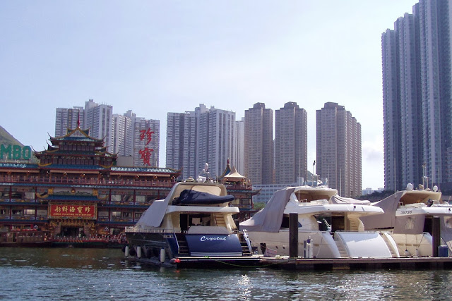 Taking A Boat Trip In The Old Port Of Hong Kong