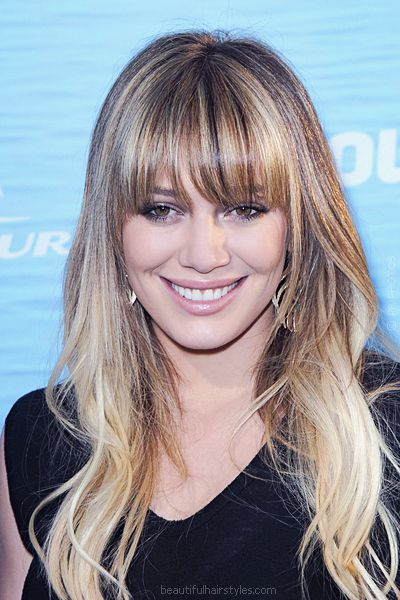 cortes de cabelo com franja 3 As tendencias dos cortes de cabelos para o verão 2014
