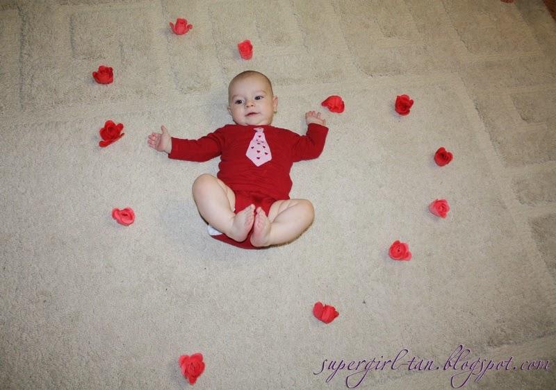 Идея фото 3-месячного ребенка