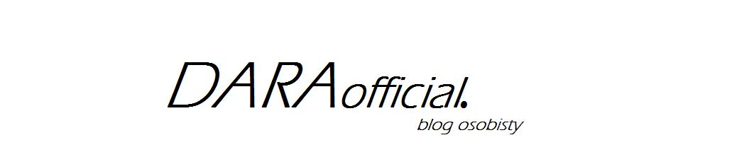 DARAofficial.  blog osobisty