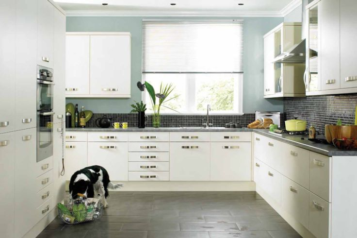 Modern white kitchen cabinets kitchen design best for Modern kitchen white cabinets