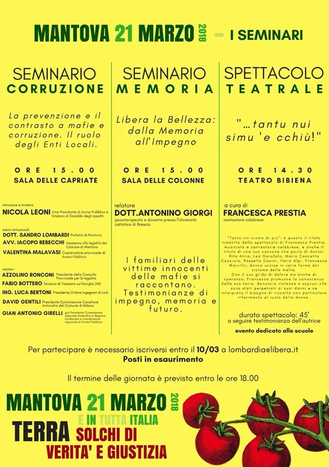 21 marzo - Mantova