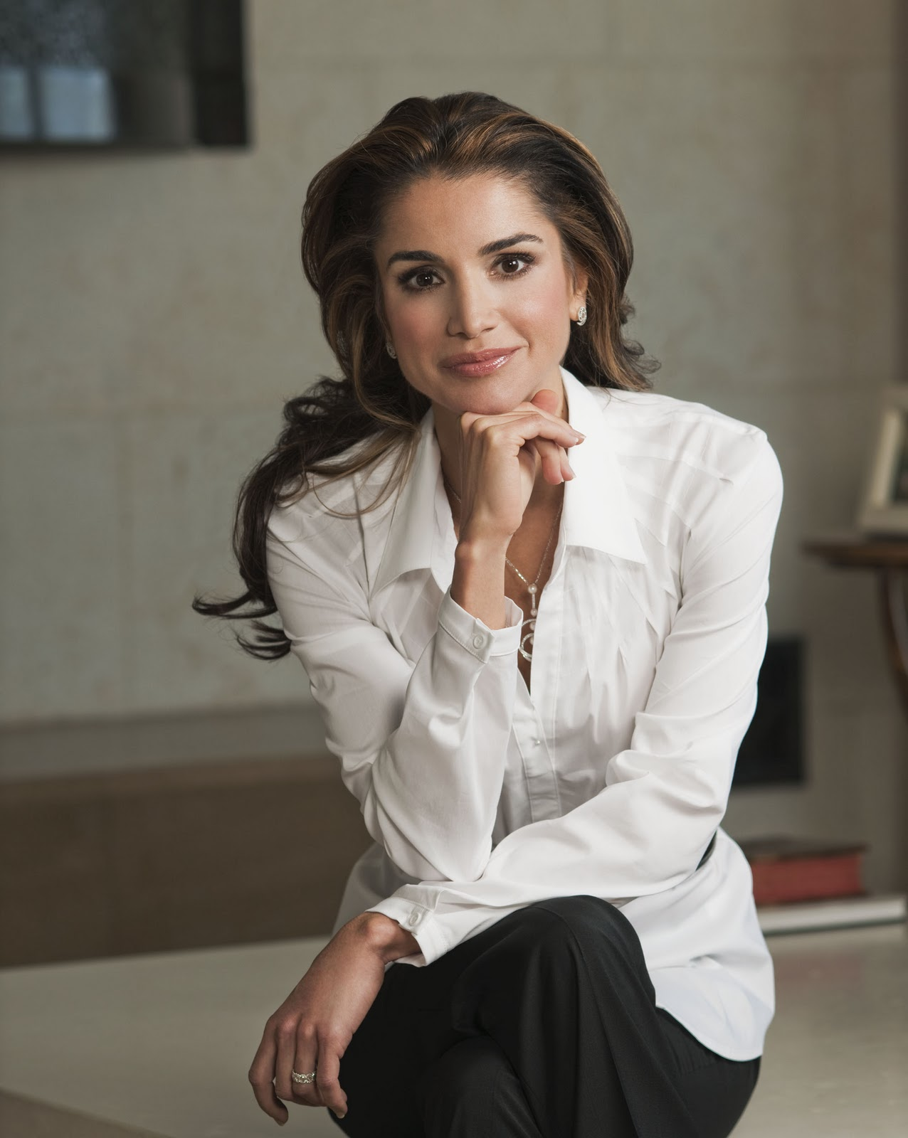 I Was Here Queen Rania