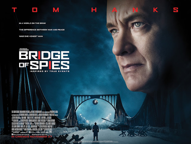 bridge of spies quad poster