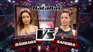 Bárbara Isasi y Sandra Morales
