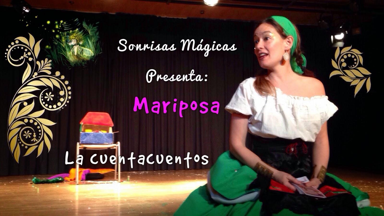 Cuenta cuentos Mariposa 23 de abril 18:00 C.C. Valdebernardo
