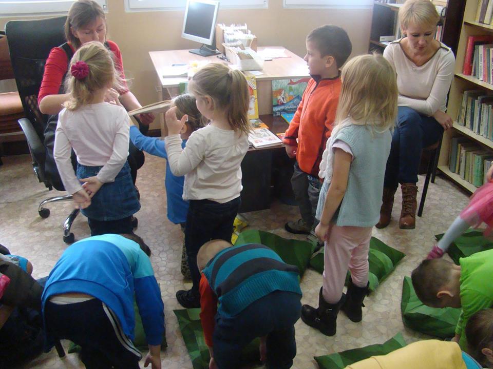 Lekcje biblioteczne dla przedszkolaków
