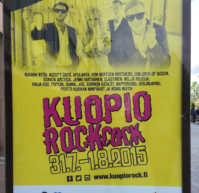 Kuopio Rock, funny