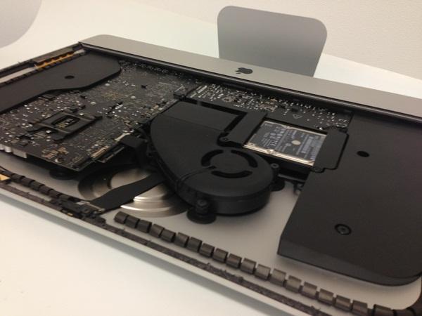 New Apple iMac tear off,Inside iMac,Latest iMac 21.5 inch