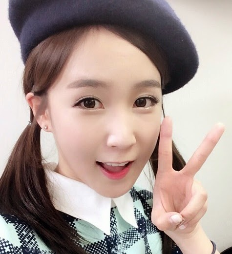 Crayon Pop Choa's instagram account