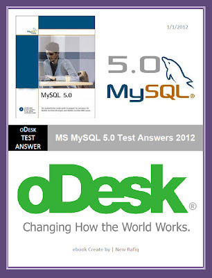MySQL 5.0 Test Answers