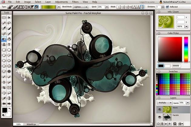 موقع sumoware برنامج تصميم اون لاين