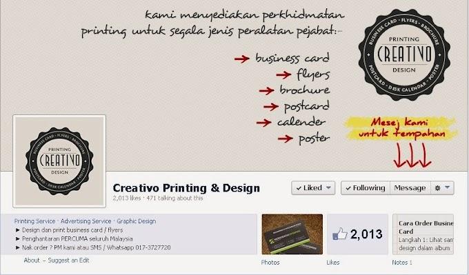 Print Bisnes Kad