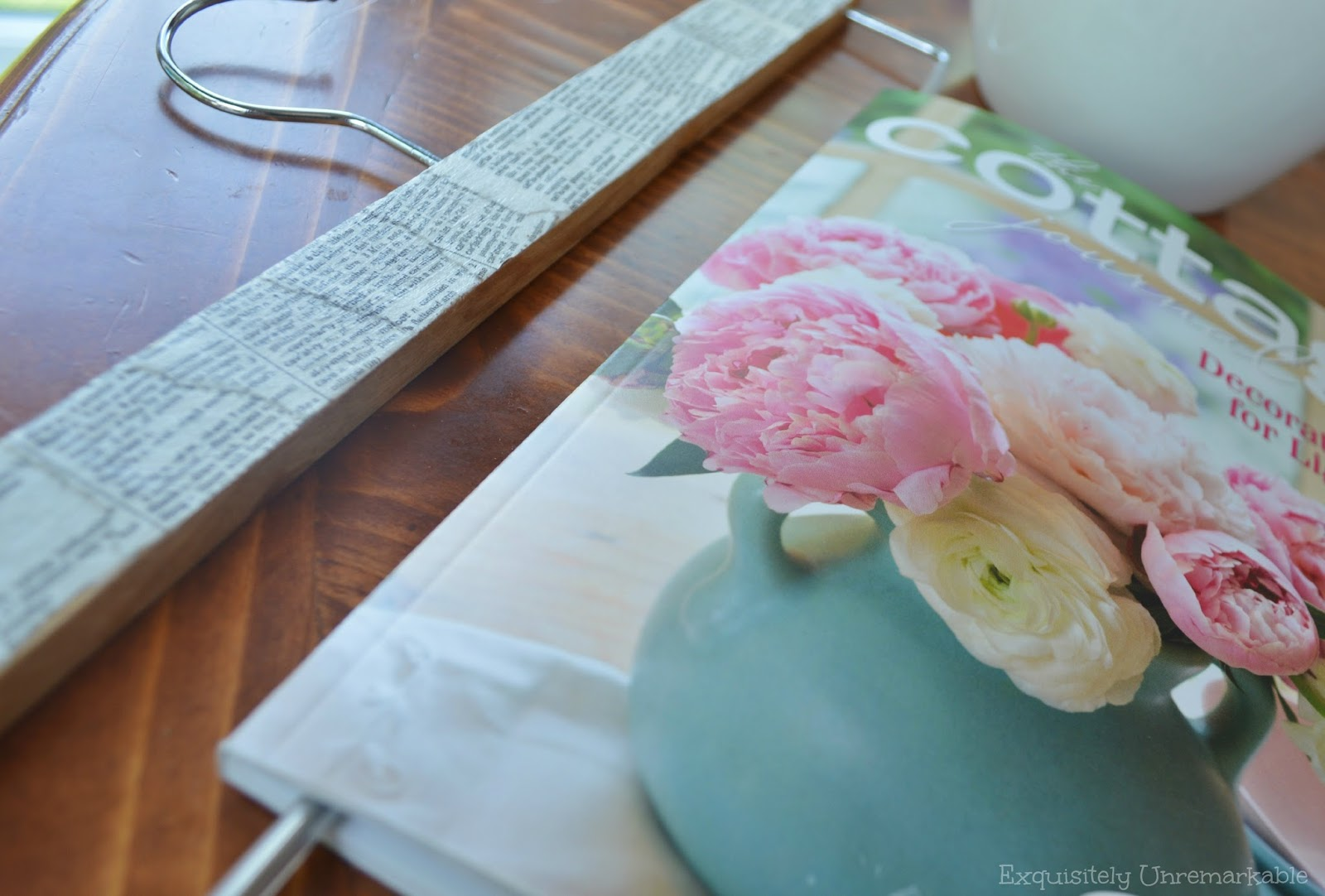 Book Page Magazine Holder Craft