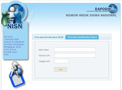 Data NISN Siswa Nasional SD SMP SMA SMK Dapodik Kemdiknas
