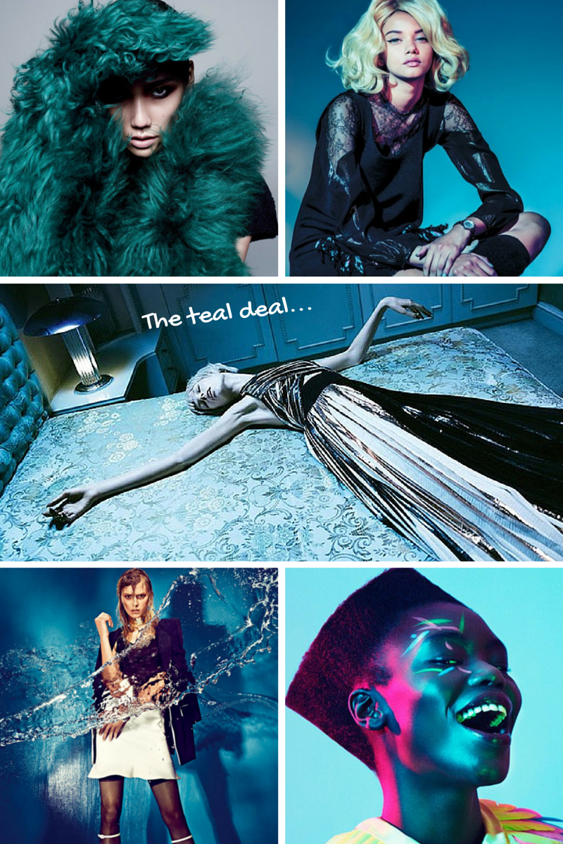 Teal in Numéro China, Vogue Germany, Ppaper Fashion, W Korea & Institute Magazine | Ses Rêveries