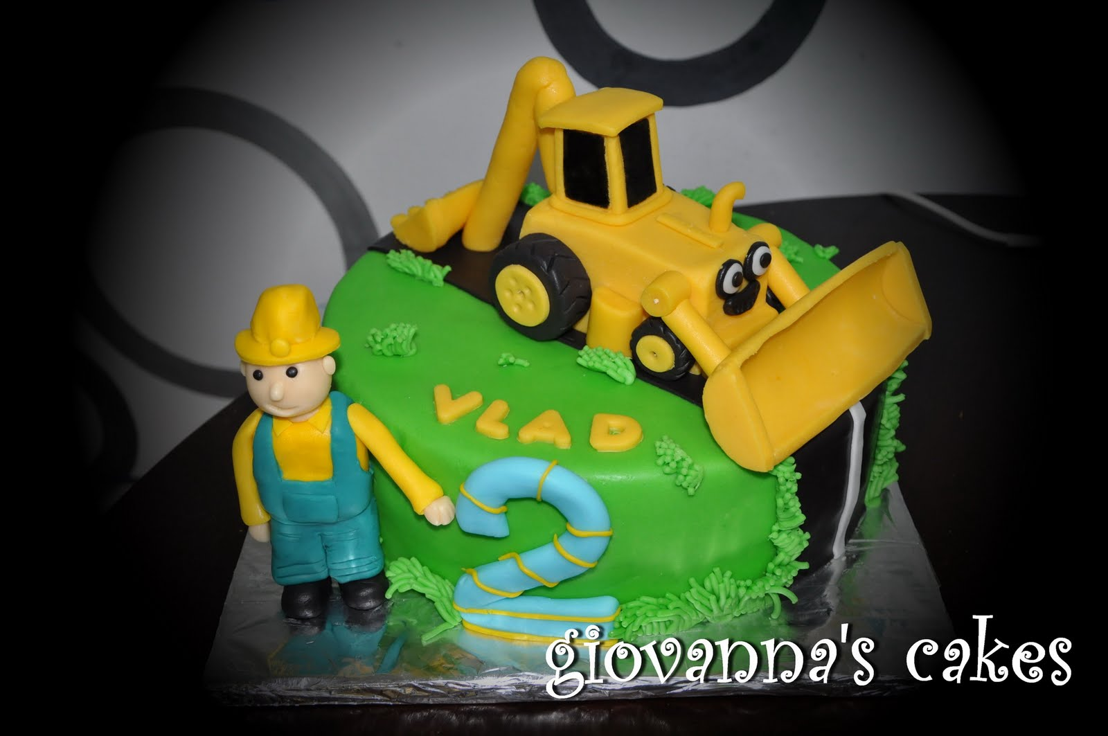 Giovannas Cakes Excavator Cake
