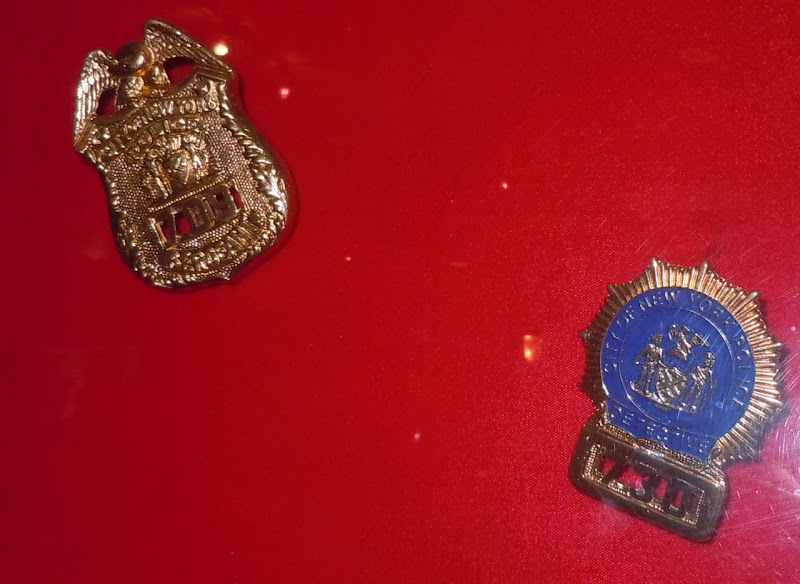 Cagney and Lacey prop police badges