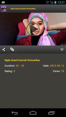Hijab Tutorial - Aplikasi Android Cara Memakai Hijab Style