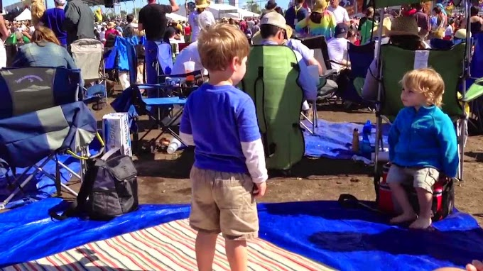Seven Tips For Surviving Jazz Fest With Your Toddler