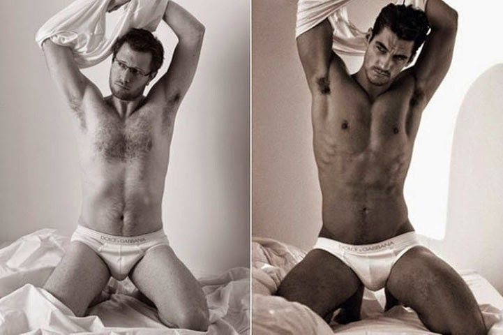 Hombres reales ¿y si ellos posan en ropa interior como lo  - imagenes de modelos hombres en ropa interior