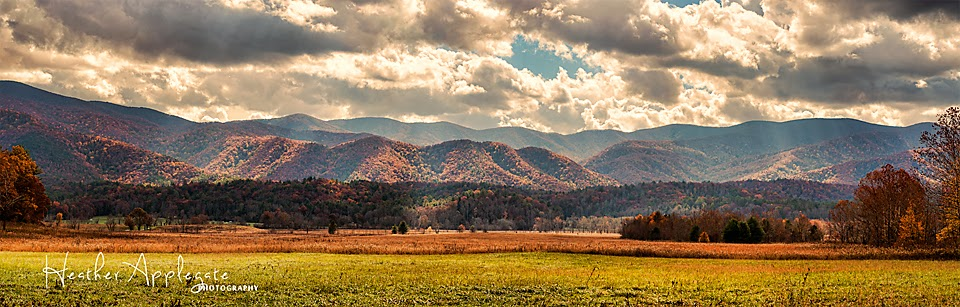Cades Cove panorama by Heather applegate