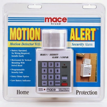 Mace Motion Alert Product box