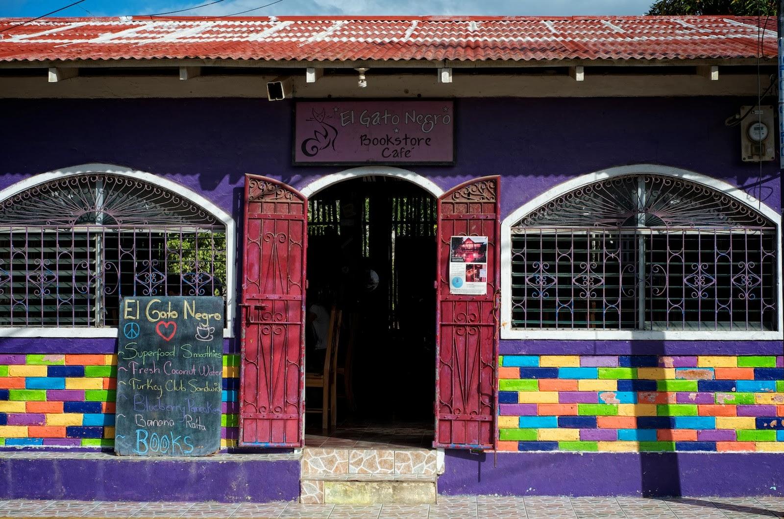 Black pimienta nicaragua san juan del sur bocado a El gato negro decoracion