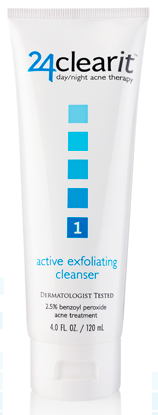 24clearit_Active_Exfoliating_Cleanser_acne
