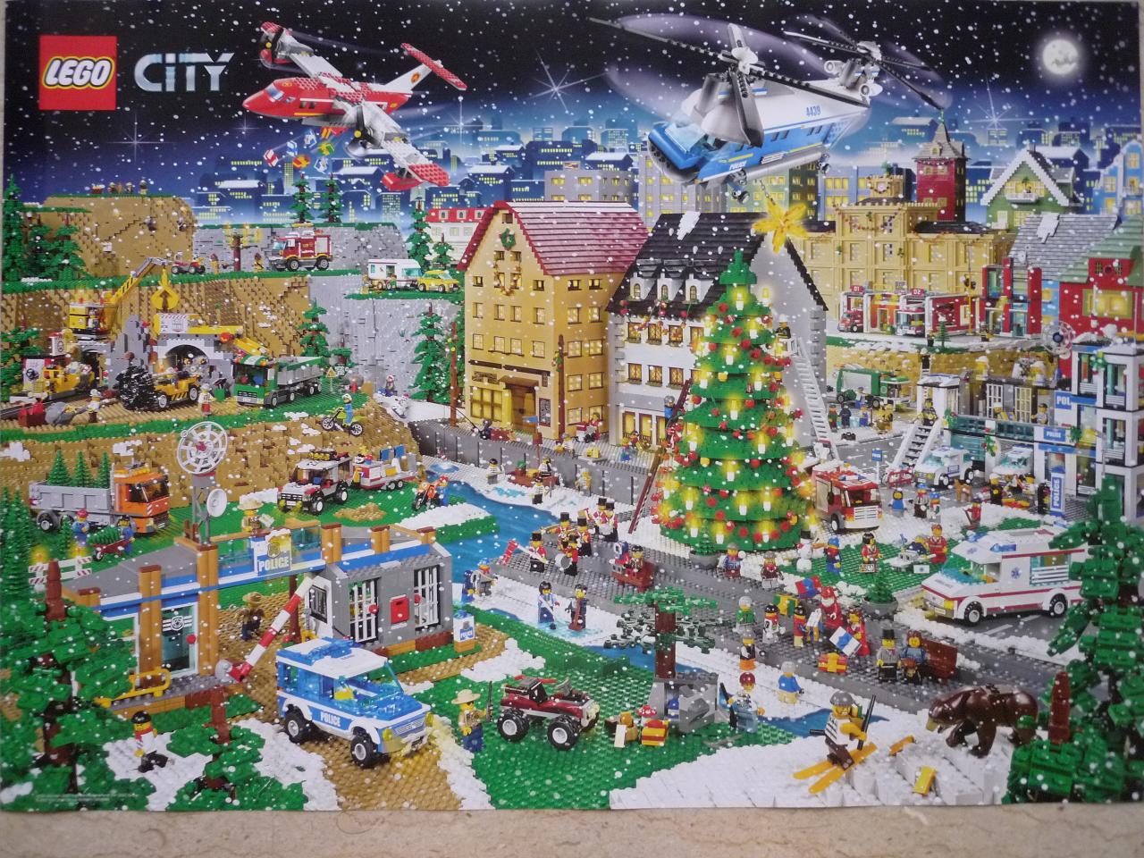 lego city christmas advent calendar 2018