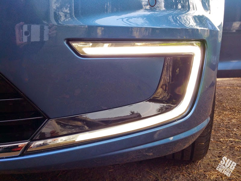VW e-Golf exterior light
