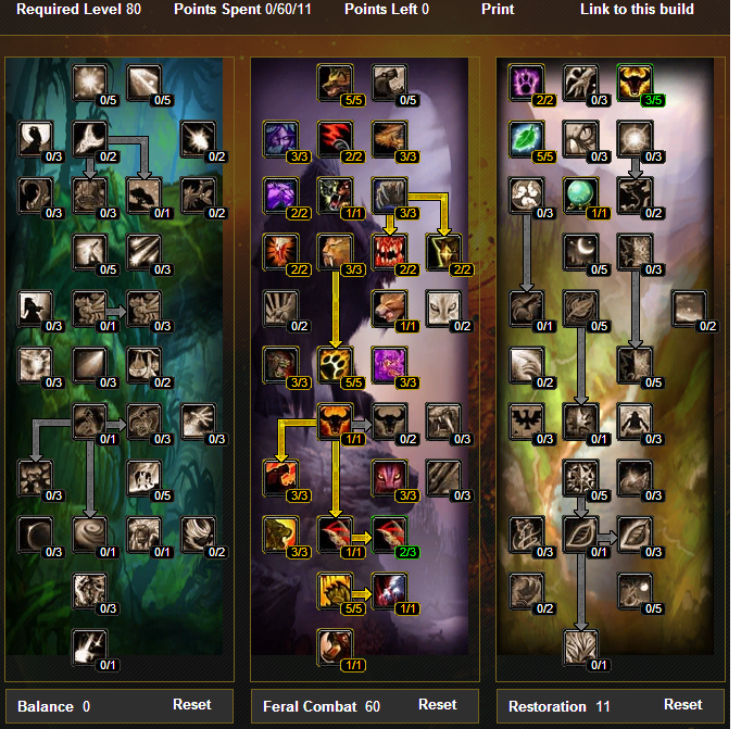 Tree wow 3 3 5 amp glyphs wow best pvp pve talent leveling guide
