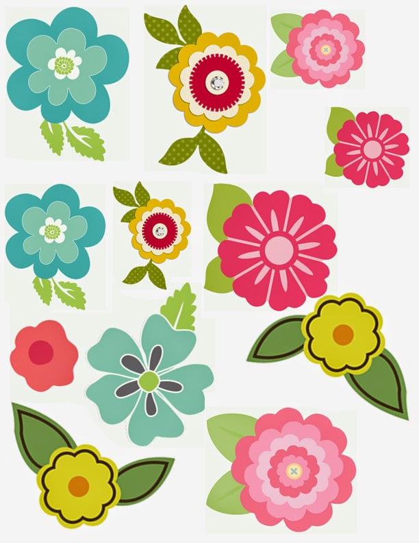 Urbanica\'s Scrap: Imprimibles 4 flores!