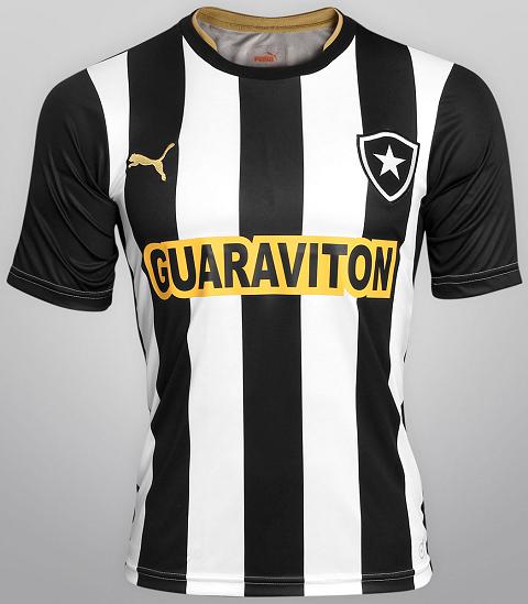 218e837a6c Botafogo divulga sua novas camisas para o Brasileirão - Show de Camisas