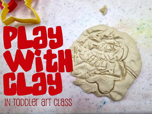 http://librarymakers.blogspot.com/2013/10/toddler-art-class-playing-with-clay.html