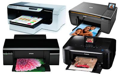 примеры струйных принтеров
