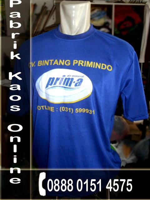 Kaos Oblong, Vendor Kaos Sablon, Vendor Kaos Promosi