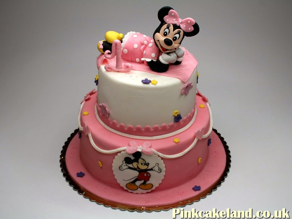Minnie Mouse Cake, Tonbridge
